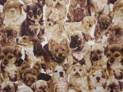 FABRI QUILT INC-BEST OF SHOW PACKED PUPPIES