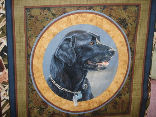 LOYAL RETRIEVIER PILLOW - A