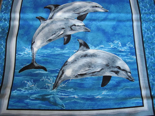 LEAPING DOLPHINS A