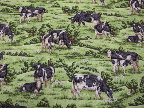 PAINTBRUSH STUDIO- farm living cows